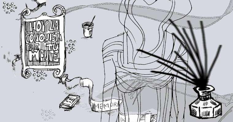 Tinta a diario proyecto de Javier Martinez acerca del dibujo y su obra plástica.