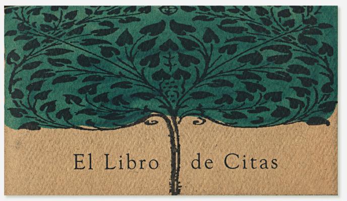 El libro de citas proyecto de Javier Martinez que incluye sus dibujos y citas famosas de autores internacionales.